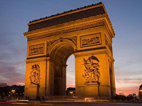 Arco Del Triunfo Francia