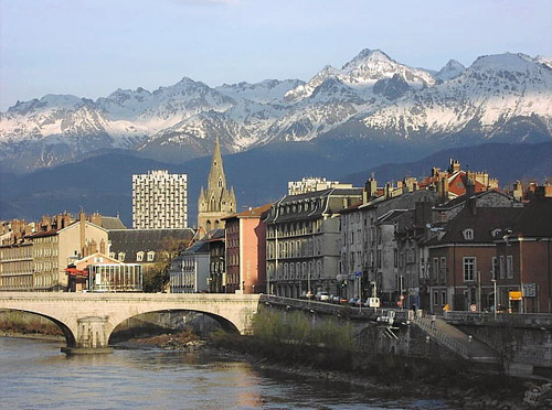 Grenoble francia for Piscine grenoble