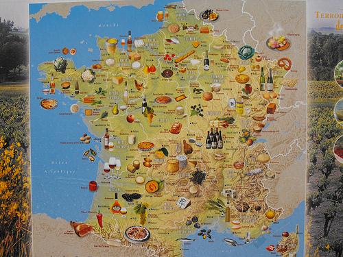 Mapa Turistico De Francia.Provincias De Francia Francia
